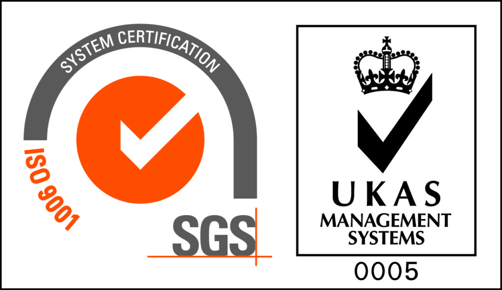 Our Sheffield Factory is ISO9001 accredited - the internationally recognised sign of quality management