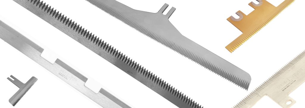 Form Fill Seal Machine Knives - Vertical and Horizontal - VFFS Knife HFFS Knife for the packaging industry
