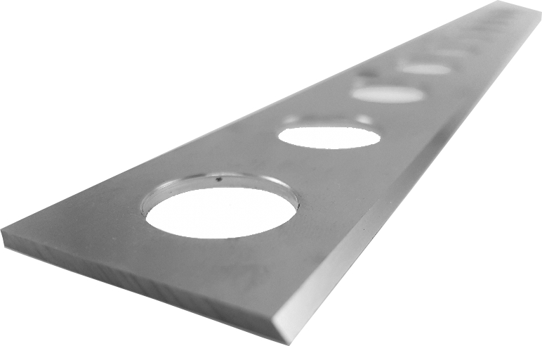 Freezer blade for ice cream making- Manufactured by Fernite of Sheffield, leading supplier of freezer blades and scraper blades for the food industry.