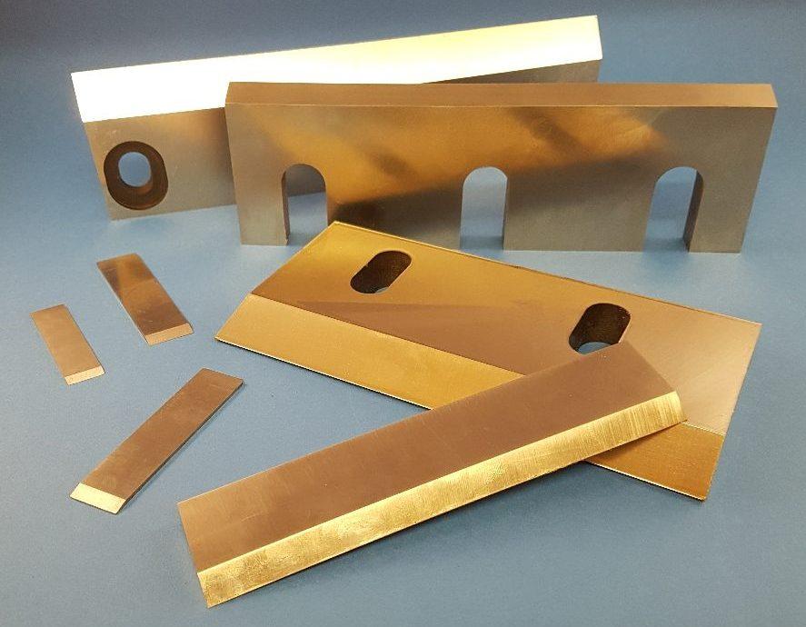 Granulator Blades Manufacturer- A F Whiteley - Made in Sheffield UK