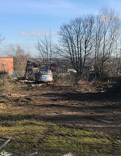Fernite factory start digging